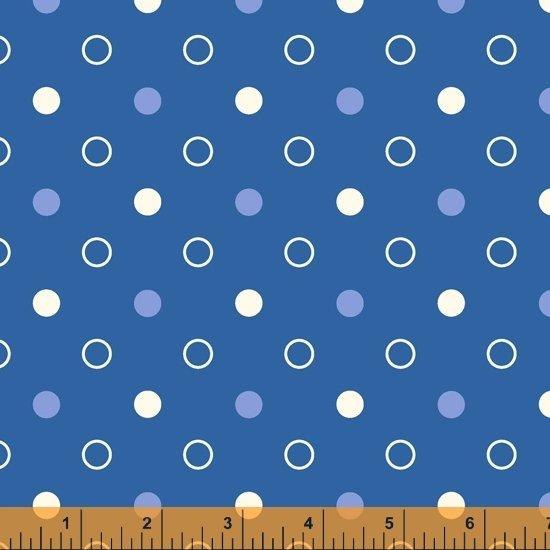 Dot Dot Dot Mixed Dot Periwinkle