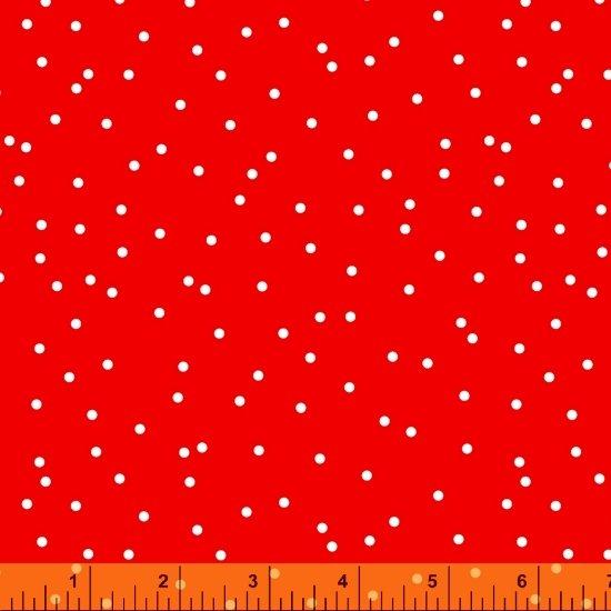Dot Dot Dot Scattered Dot Red