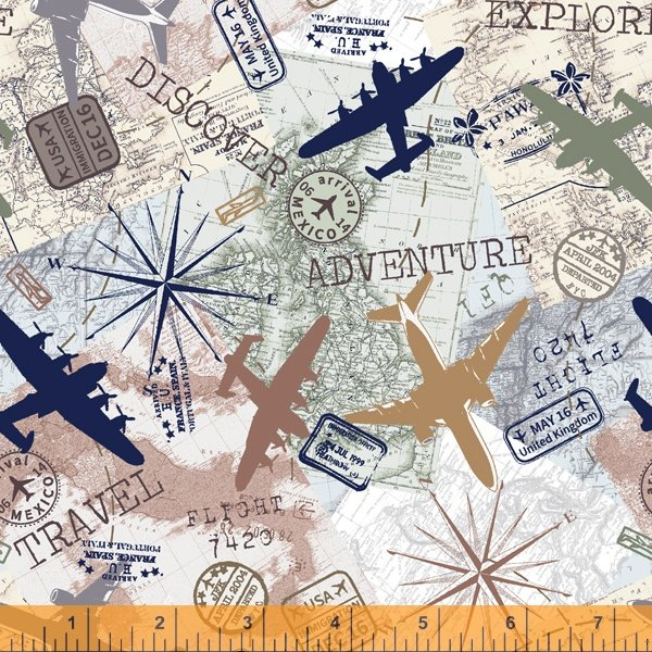 Discover Travel Map Ivory