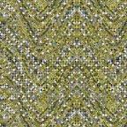 Palindromes - Confetti Wave - Gray Olive by Paula Nadelstern