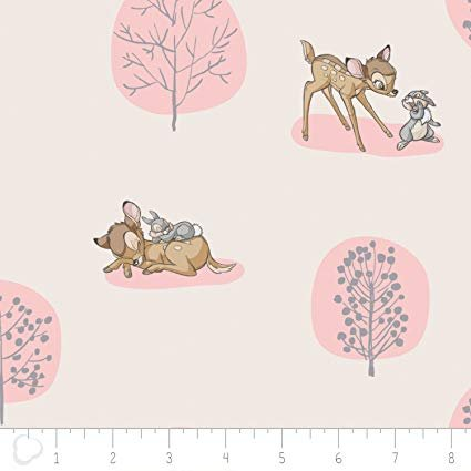 Bambi - Forest Scene - Pink