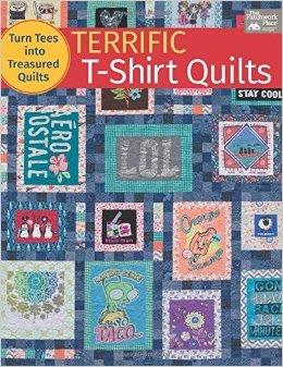 Terrific T-Shirt Quilts by Karen M. Burns