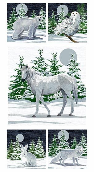 Winter Moons Digital Panel (24x44) #47