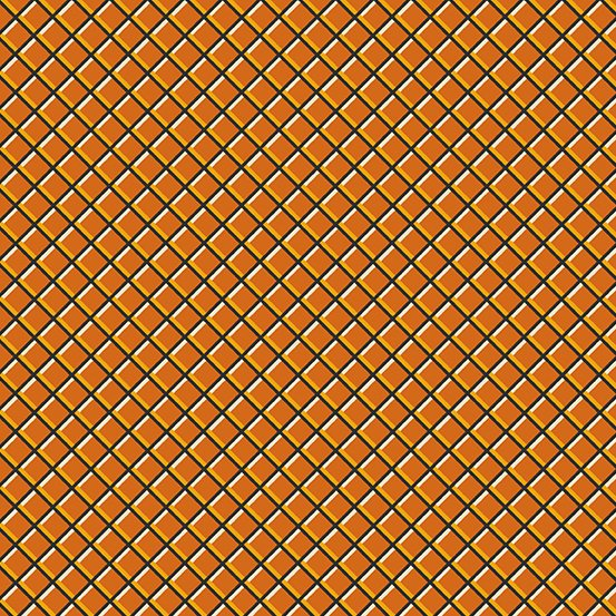 Sleepy Hollow Grid Orange - COMING SOON