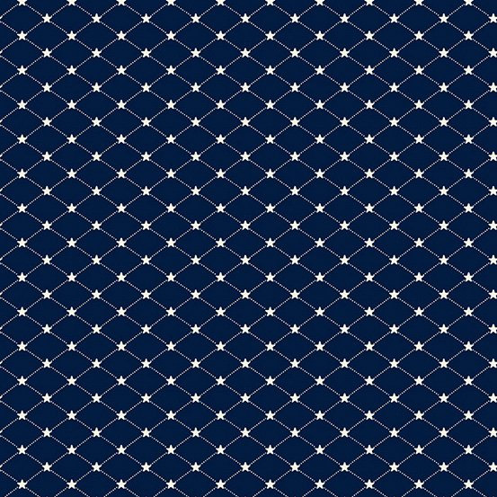 Allegiance Tufted Star Navy - COMING SOON