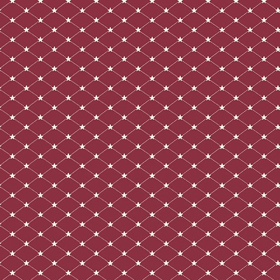 Allegiance Tufted Star Cranberry - COMING SOON
