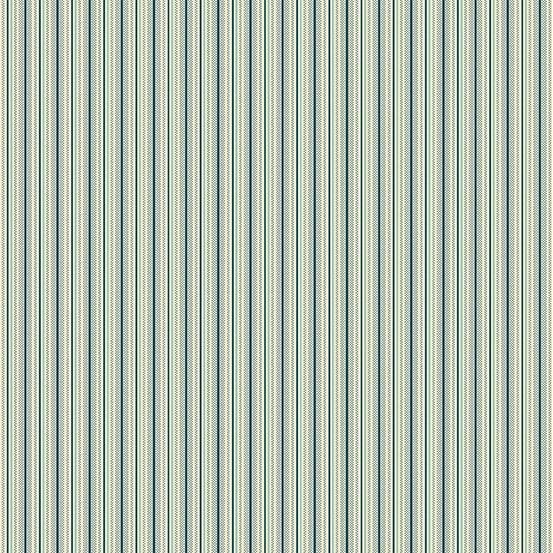 Secret Stash Cool Tones Pinstripe Navy Blue