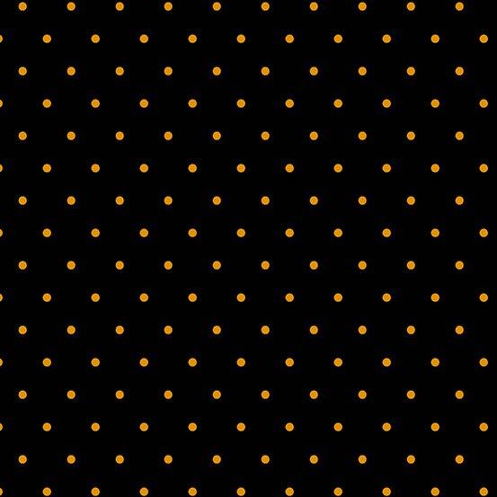 Hootenanny Dotties Black Orange