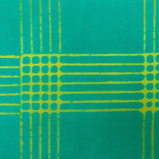 Chroma - Alison Glass - Plaid - Aqua