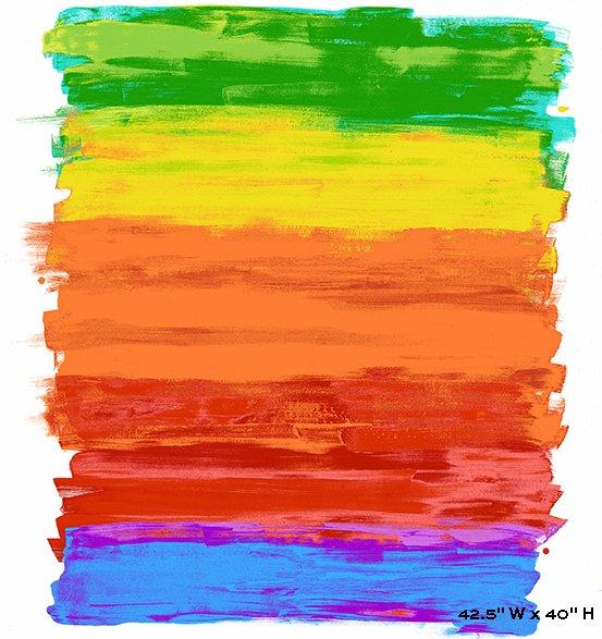 Paint Rainbow panel
