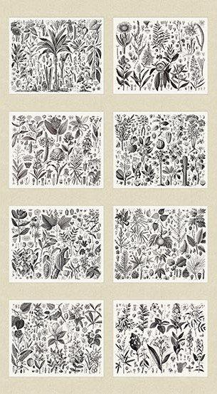 Encyclopedia Terrestria Botanicals Digital Panel