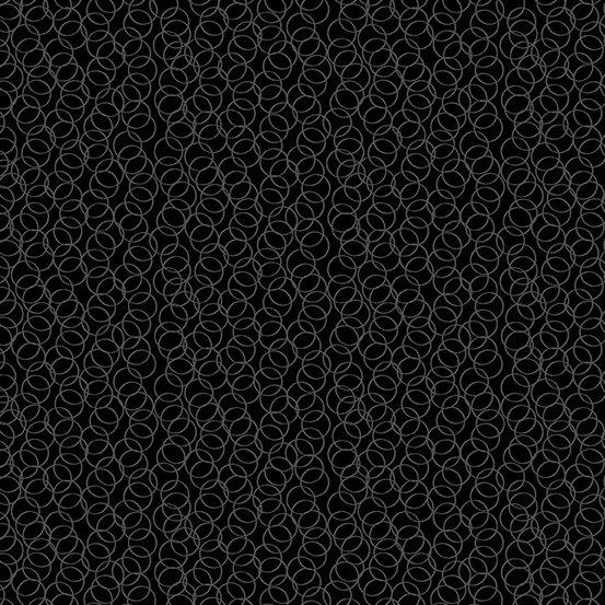 Century Black on Black Circles