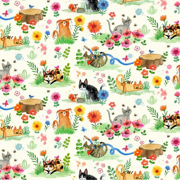Catitude Cat Garden Cream - COMING SOON