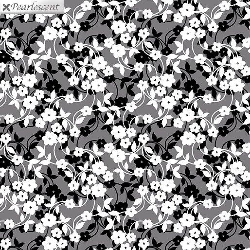 Poppy Promenade Mini Flower Dance Gray