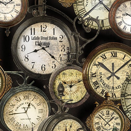 Railway Express - Station Clocks Antique