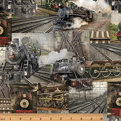 Railway Express - Railway Collage Multi