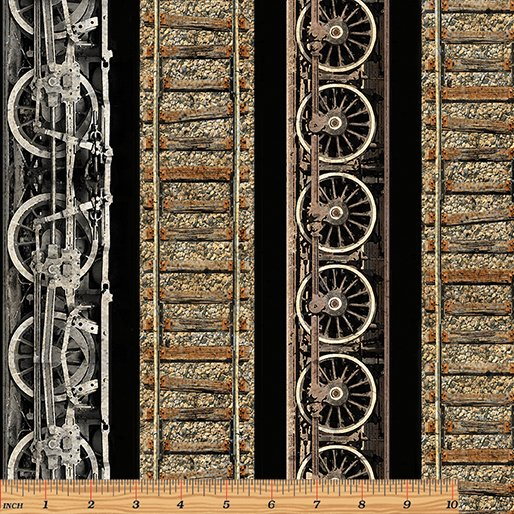 Railway Express - Railway Stripe Black