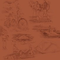 Our National Parks Toile