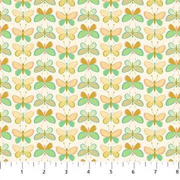 Mountain Meadow Butterflies Teal