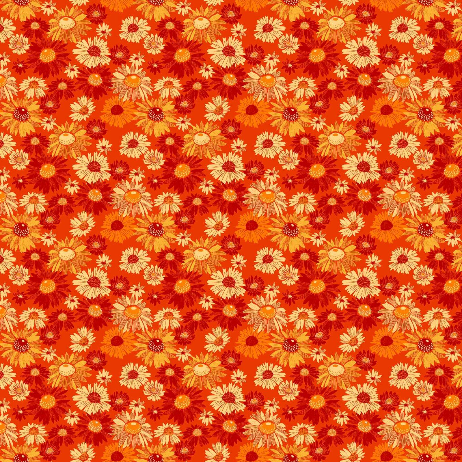 Flora Blooms Orange