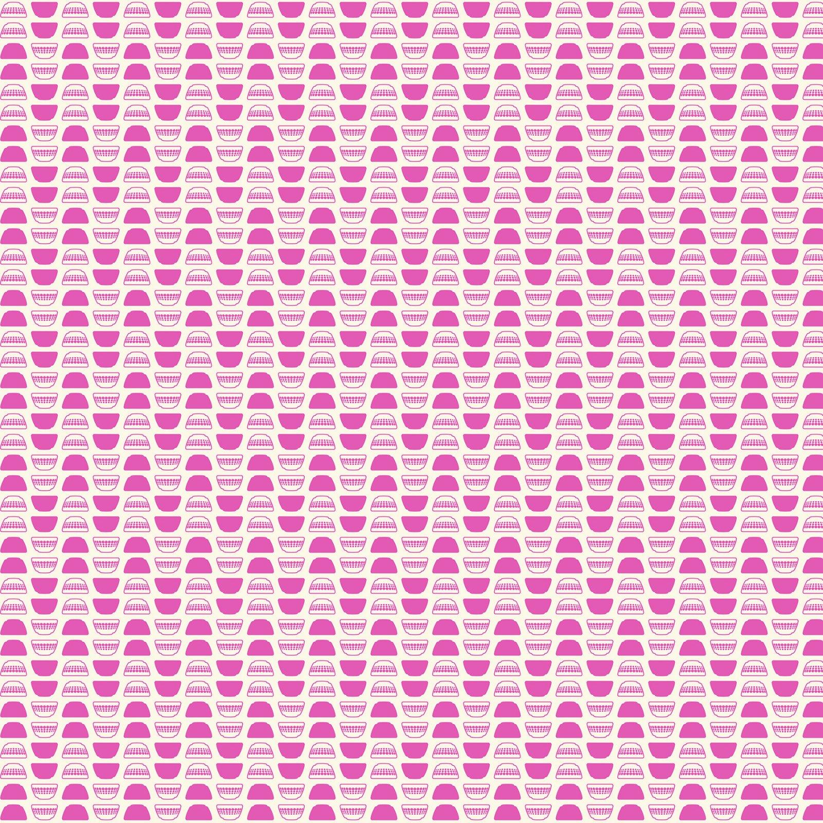 Butterscotch Bowls White/Pink