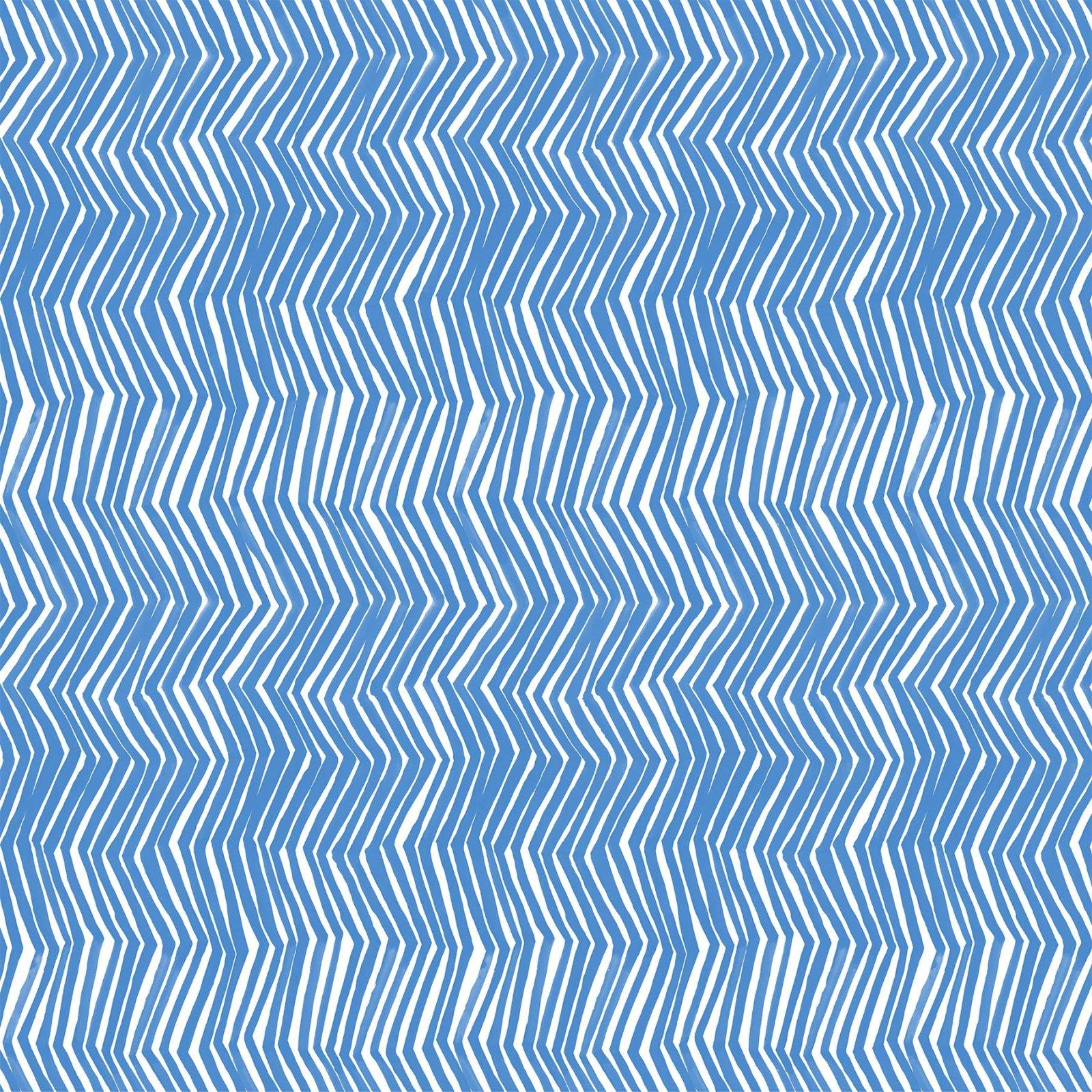 DIY Zigzag Blue