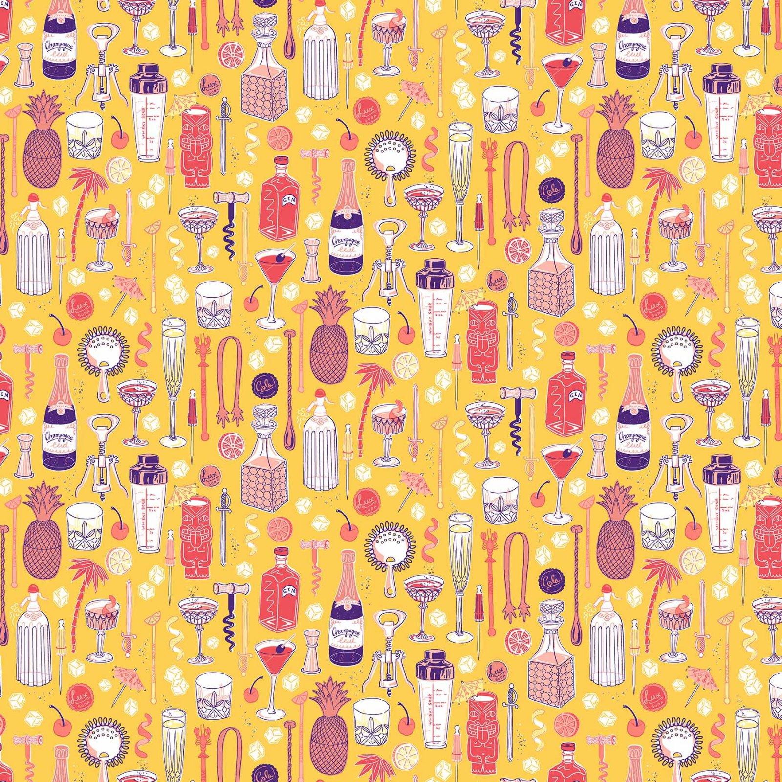 Clink! Bar Ware Yellow