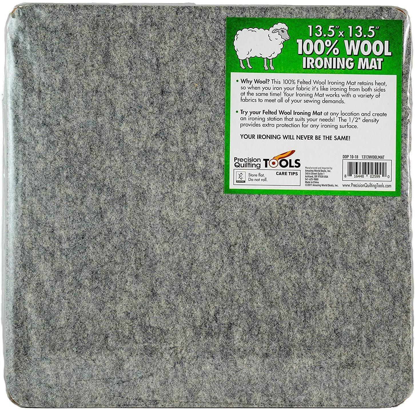 Wool Ironing Mat 13.5 x 13.5