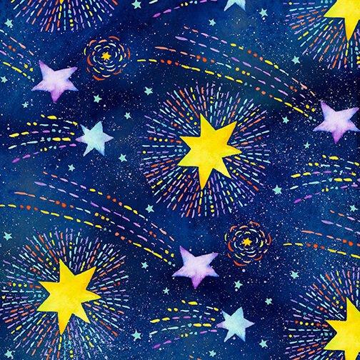 Stay Wild Moon Child Shooting Stars Navy