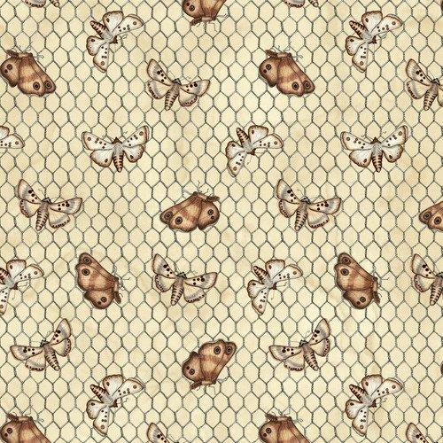 Love 4 Cotton Moths On Chicken Wire