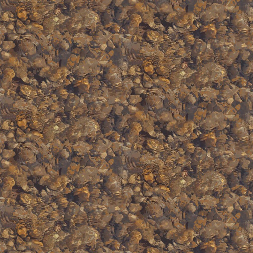Yellowstone Rock Texture Brown