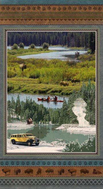 Yellowstone Scenic Panel (24x44) #130
