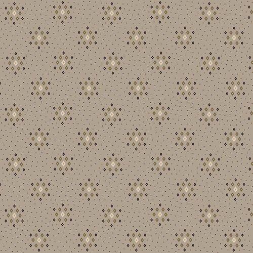 Parlor Pretties 108 Diamond Geometric Gray