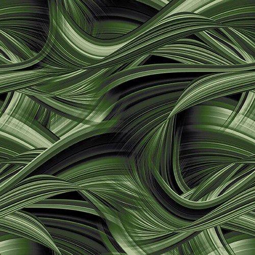 Sedona Wave 108 Backing Green
