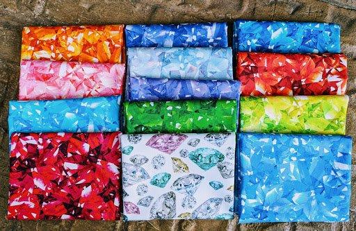 Birthstone Jewels FQ Bundle (13pcs)