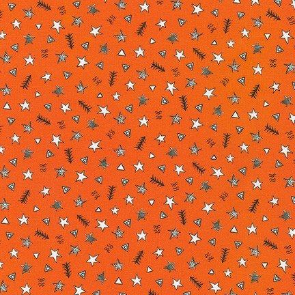 Neighborhood Pals Stars & Trees Orange