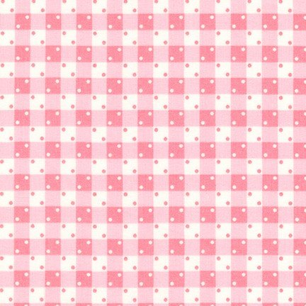 Darlene's Favorites Gingham Dots CAMELLIA