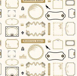 Downton Abbey Labels & Logos panel row