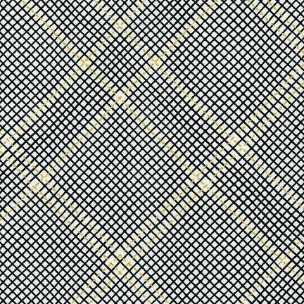 Collection CF Metallic Grid Lines Onyx