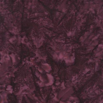 Batiks: Prisma Dyes BURGUNDY