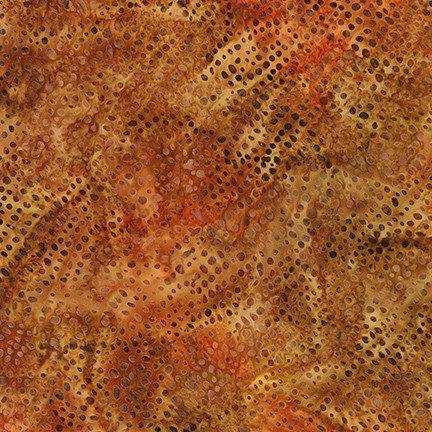 Artisan Batiks Serengeti Rain Dots Saffron