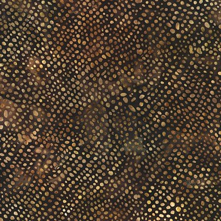 Artisan Batiks Serengeti Rain Dots Mocha