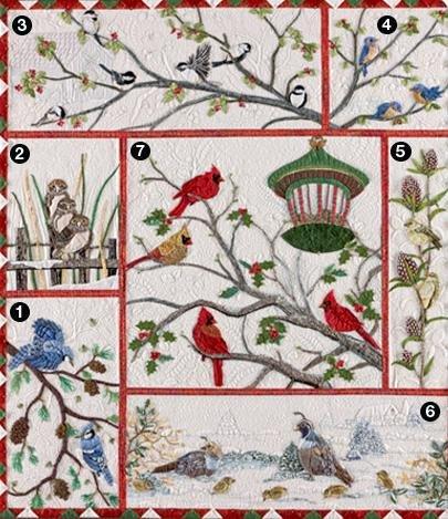 Audubon Block of the Month