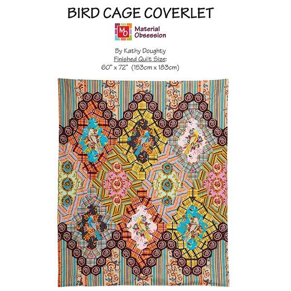 Bird Cage Coverlet (60x72)