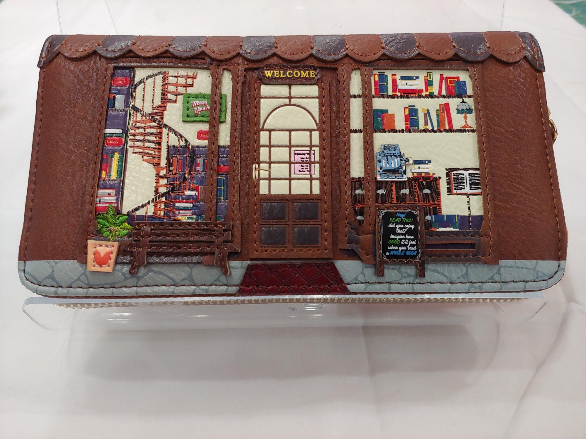 Vendula London - Book Shop - Large Zip Around Wallet