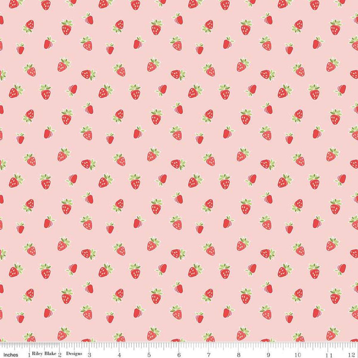 Strawberry Honey Strawberries Blush