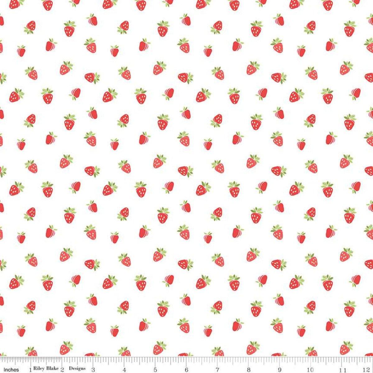 Strawberry Honey Strawberries White
