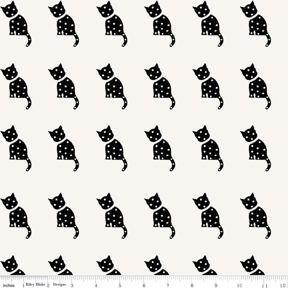 Old Made Cat Stamp White