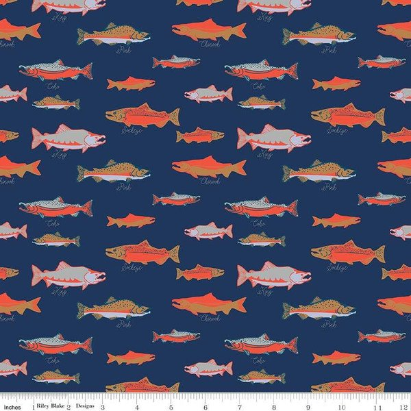 Salmon Navy