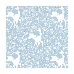 Bambi - Silhouette - Blue